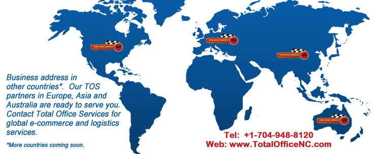 Address in other countries. Call TOS.